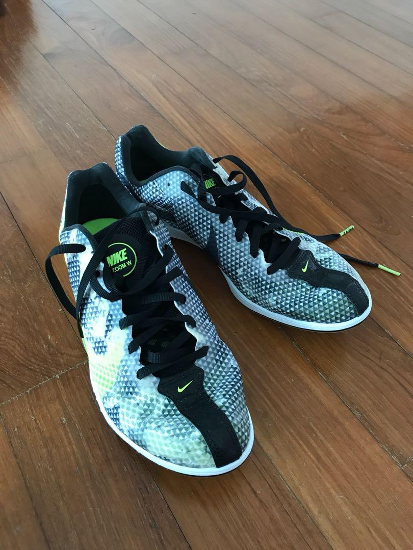 Nike zoom racing shoes, Sports, Sports