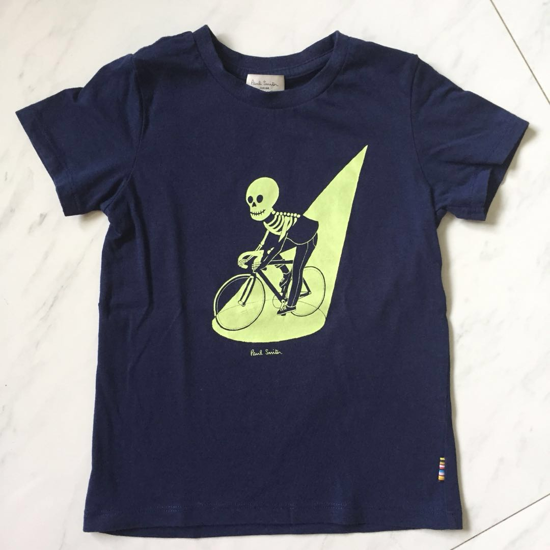dbb592072fff Paul Smith Glow-in-the-Dark Skeleton Bicycle Shirt halloween ...
