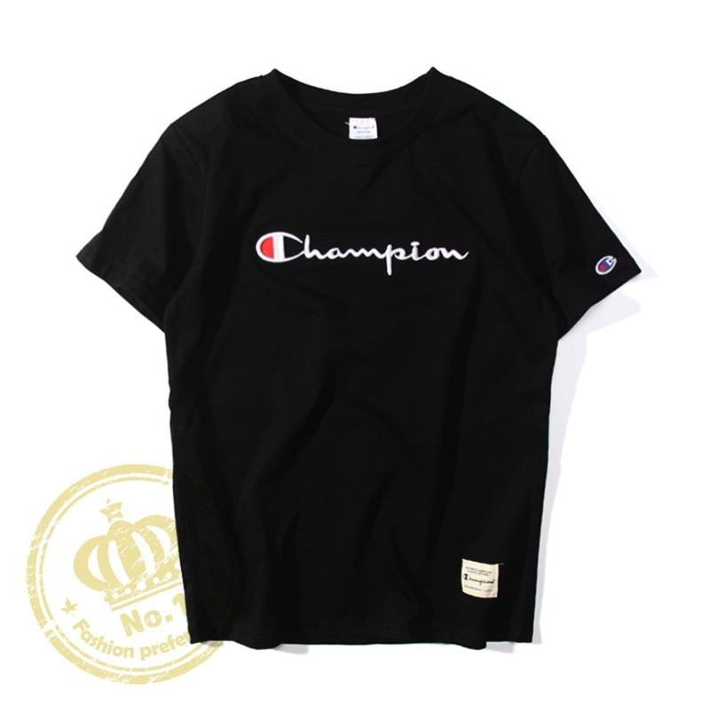 8059932d894e Pre-order] Champion T Shirt, Men's Fashion, Clothes, Tops on Carousell