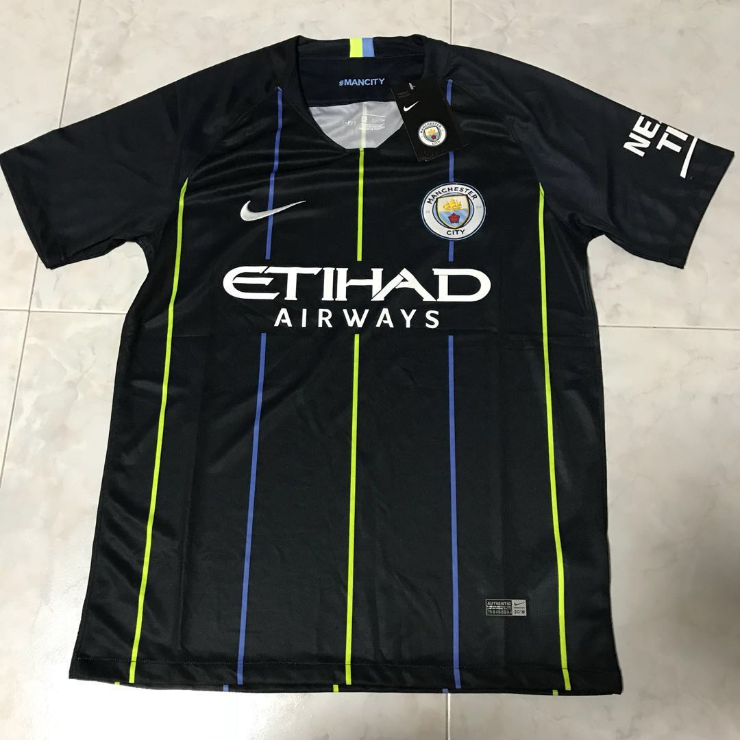 size 40 ac741 5ceb7 Replica Manchester City Away Jersey 2018/2019 , Sports ...