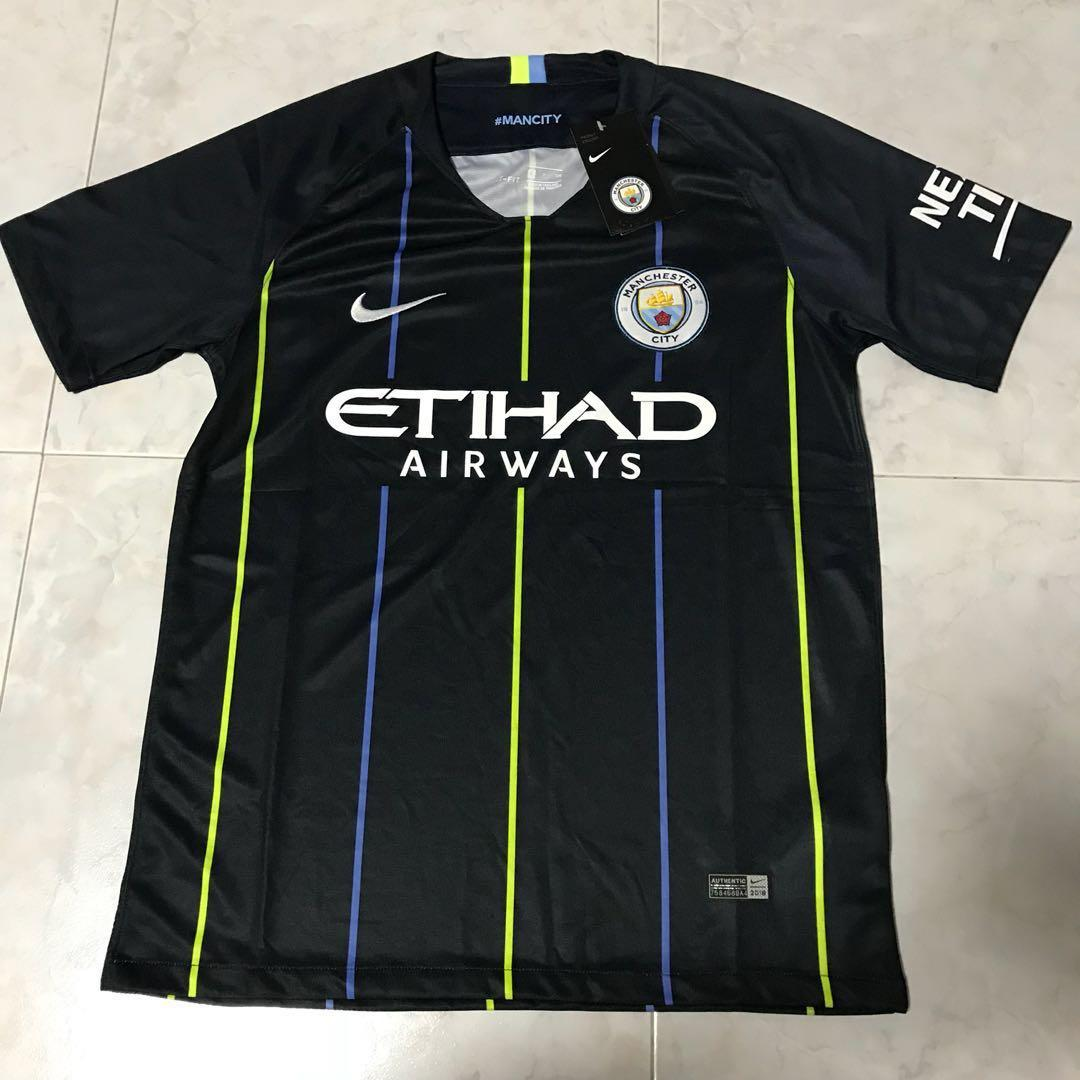 size 40 5c6a1 1a6a0 Replica Manchester City Away Jersey 2018/2019 , Sports ...