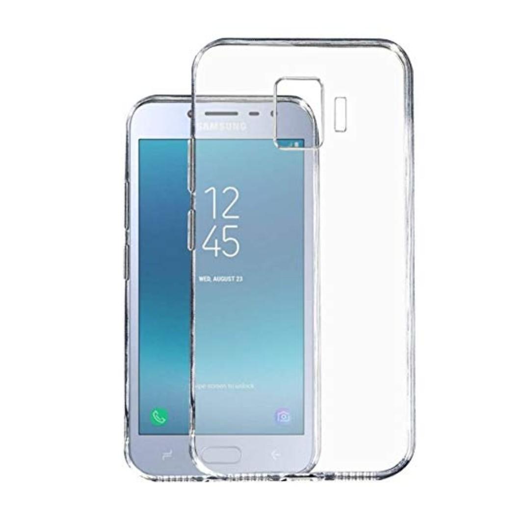 best service 66484 57dec Samsung Galaxy J2 Core Clear TPU Silicone Case Cover Casing