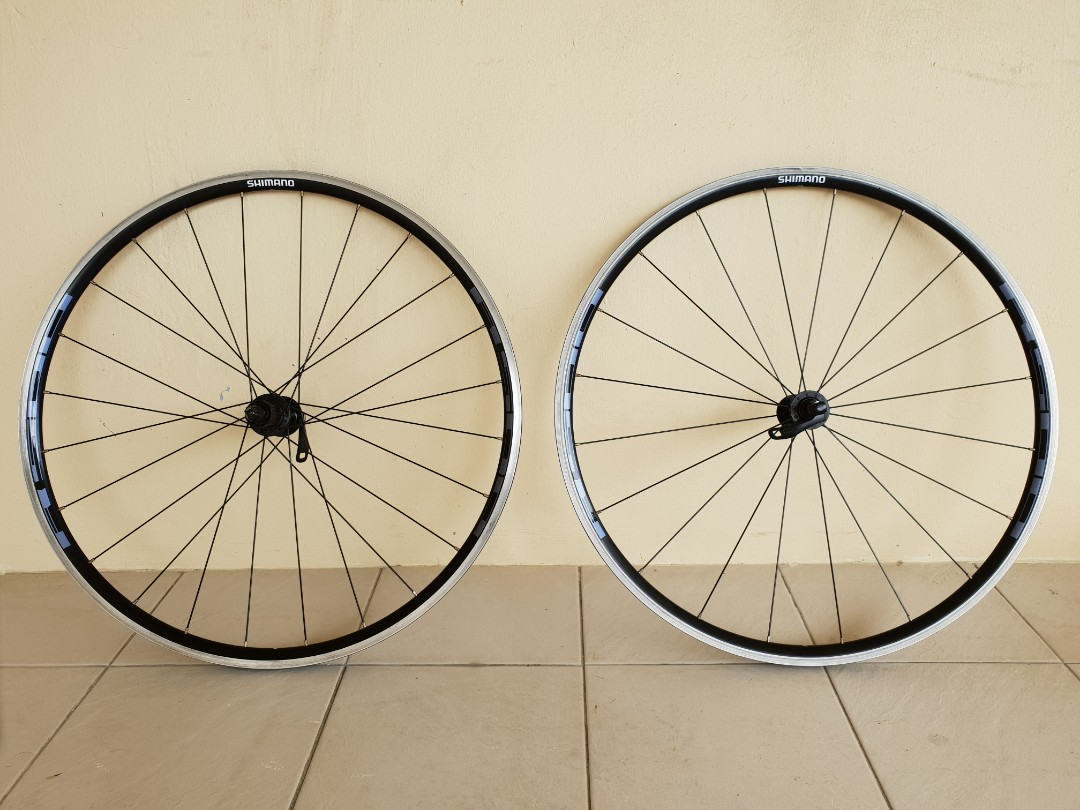 2ff6ee69ffc Shimano R500 Wheelset 8/9/10 Speed Hub, Bicycles & PMDs, Bicycles ...