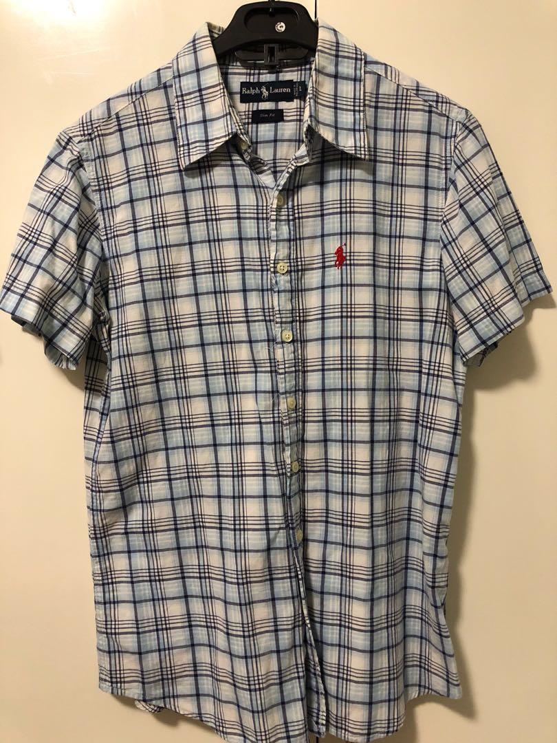 7e1ff6bb Short sleeves button down polo, Men's Fashion, Clothes, Tops on ...