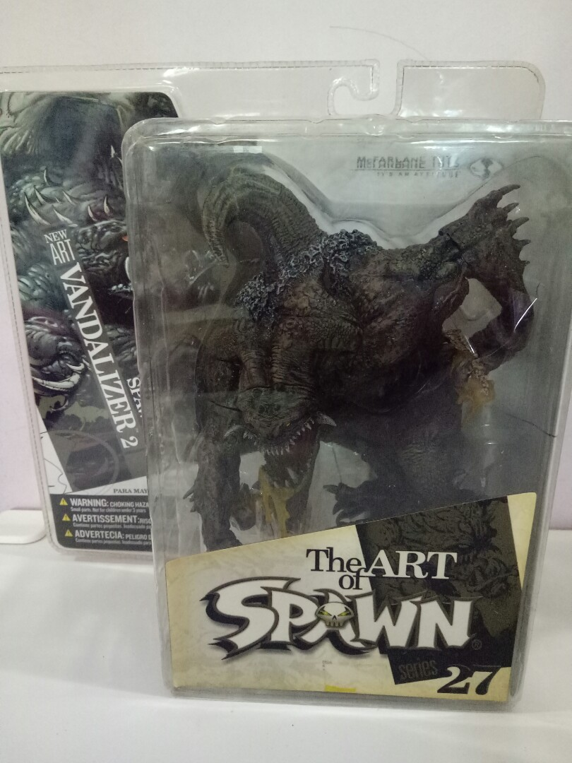Spawn Vandalizer 2 Series 27 Toys Games Bricks Figurines On