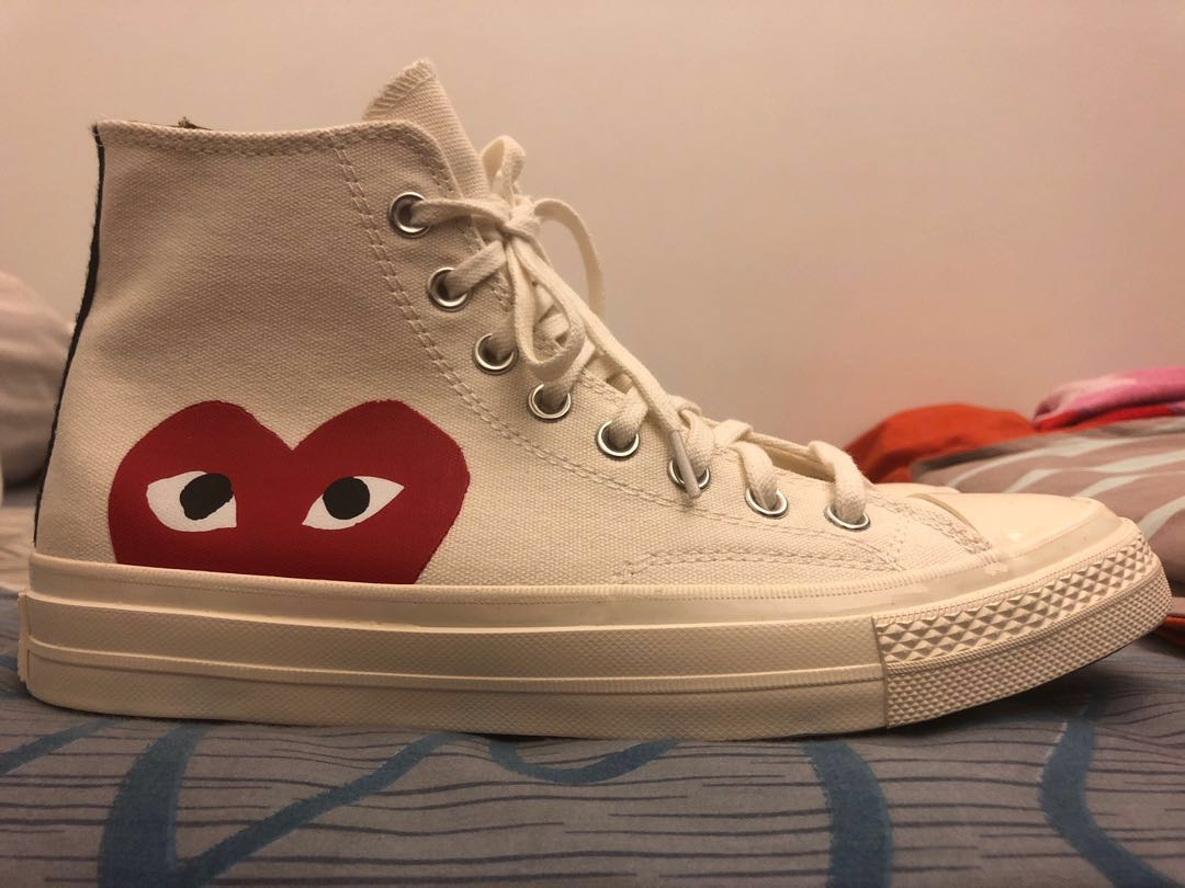 2033e57d79f85 Steal  CDG Comme des Garcons x Converse Hightops