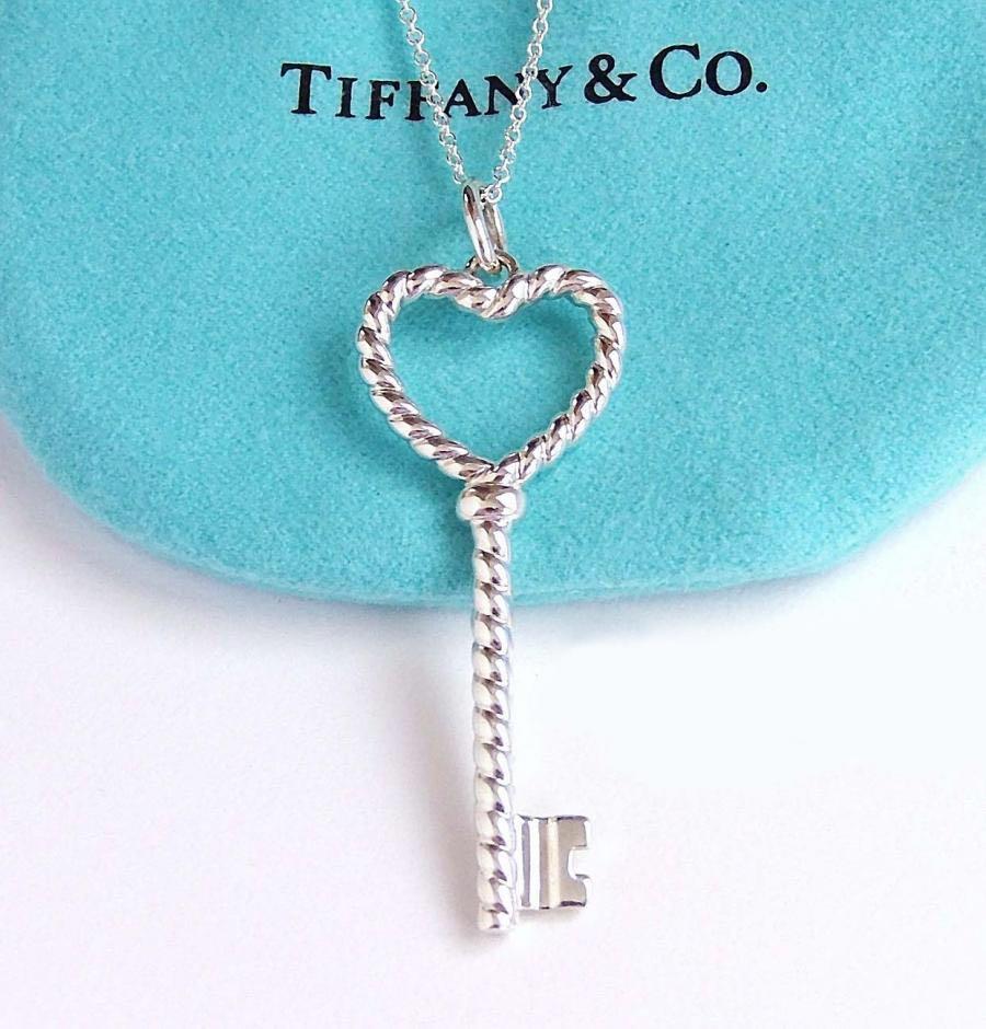 Tiffany Twist Heart Pendant