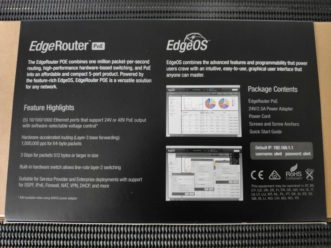 Edgerouter Pihole