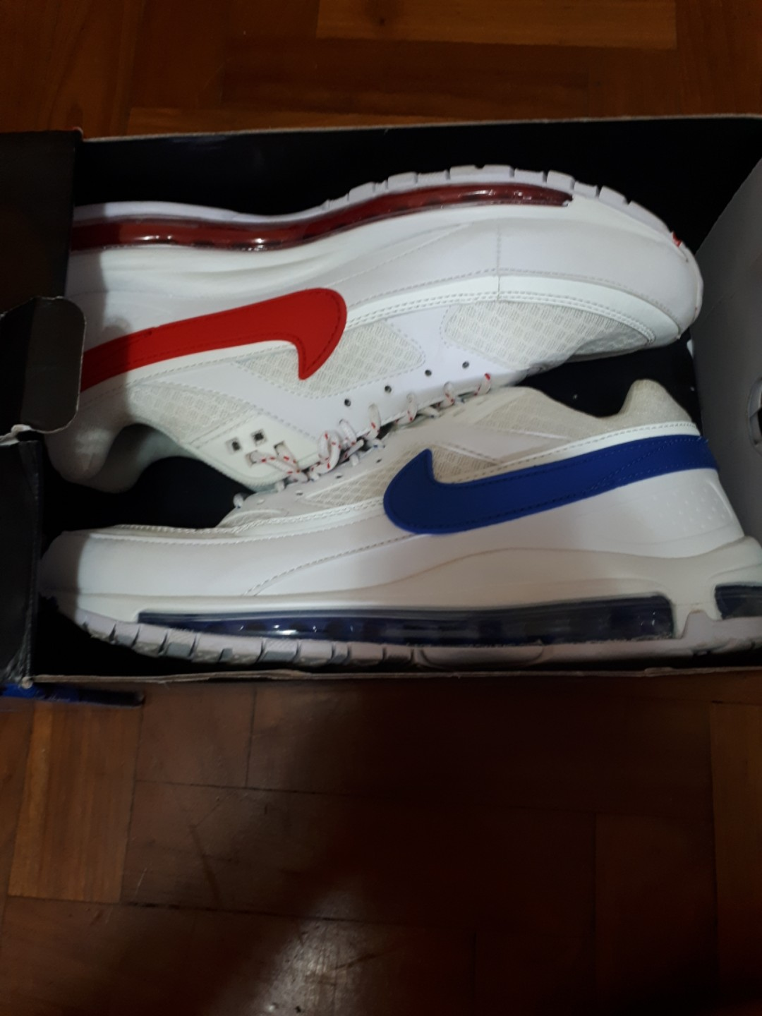 93dd27ec46 US9.5,EU43.5] UA Grade Skepta x Nike Air Max 97/BW, Men's Fashion ...
