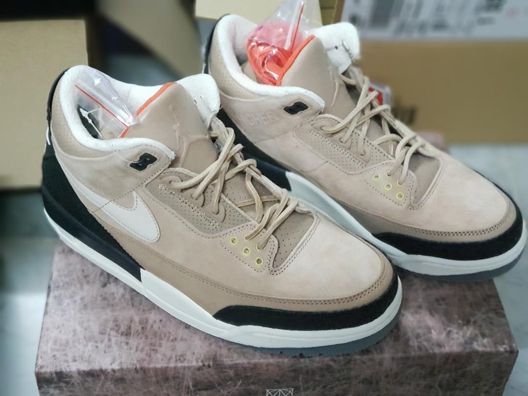f181a582c5b US 10 Nike Air Jordan 3 JTH Bio Beige, Men's Fashion, Footwear ...