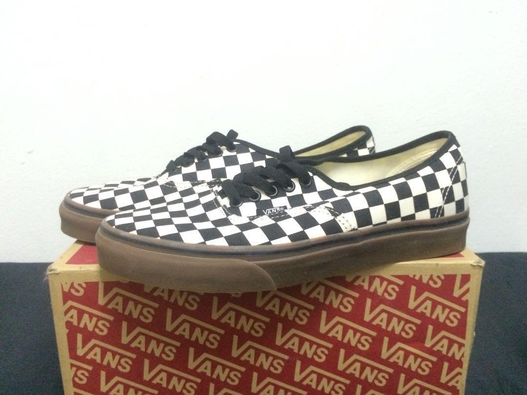 Vans Checkerboard Gumsole, Men's