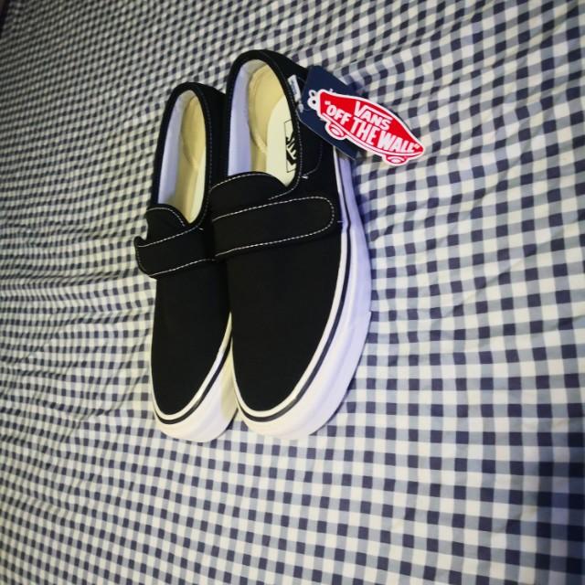 Vans slip-on anaheim strap (black), Men
