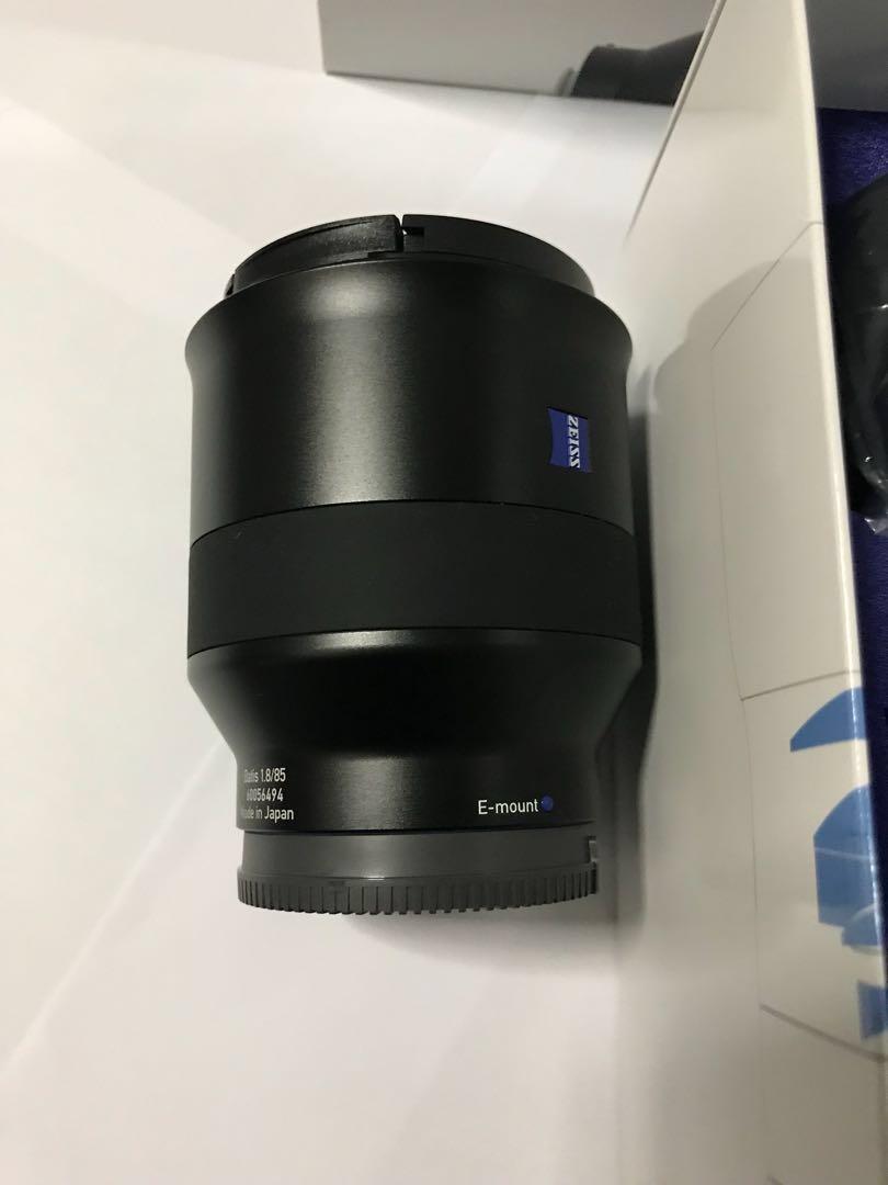 Zeiss Batis 85mm F1.8 (Mint condition)
