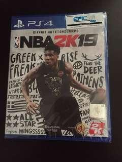 PS4 NBA 2K19 (New)