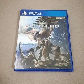 PS4 Monster Hunter World R3