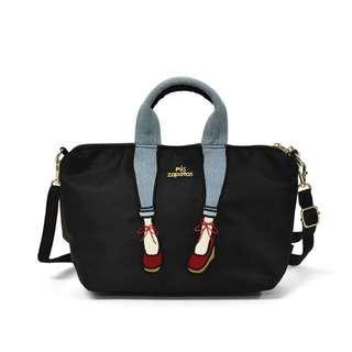 mis zapatos (black) bag