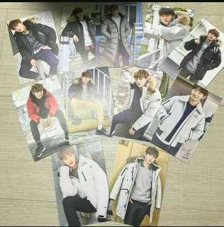 Wanna One Eider Photocard