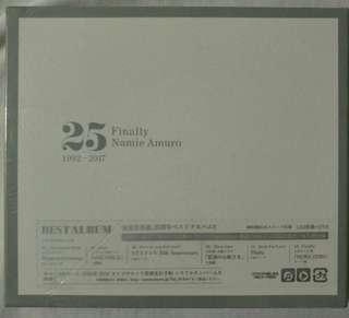 [Music Empire] Namie Amuro 安室奈美惠 - 25 Finally 1992 - 1997 CD Album