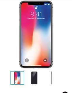 iPhone X brand-new no box