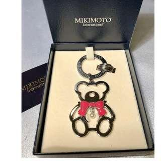 AUTHENTIC MIKIMOTO PEARL BEAR CHARM / KEYCHAIN - NEVER BEEN USED - [ PREORDER ITEM ]