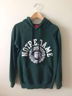 Forest Green University of Notre Dame Sweater