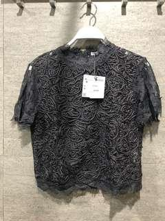 Zara Lace Blouse
