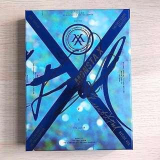 Monsta X MWAVE SIGNED Minhyuk Official The Clan Part 2 Album + FREE Official Poster
