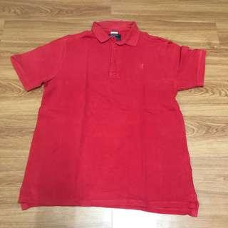 Cotton On Red Collared Shirt for Men - XL