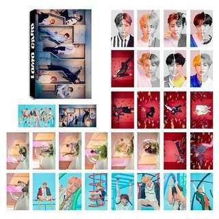 BTS Lomo Cards
