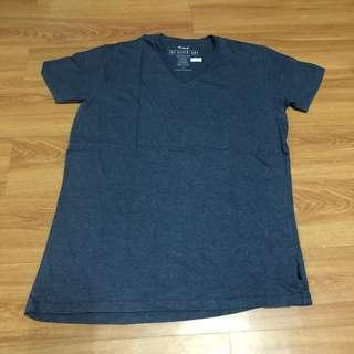 Cotton On The Other One V Neck Shirt - Grey - Large