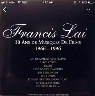 (Looking for this) Francis Lai 2CD Set