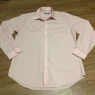 Criterion Peach Longsleeves Polo for Men - XL