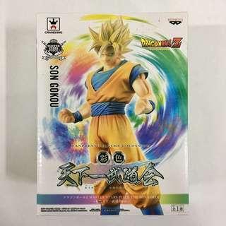 Japan Banpresto Figure Colosseum Master Star Piece MSP Dragon Ball Z Son Gokou MISB