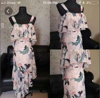 Mds printed dress