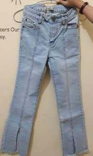 Cutbray jeans (light)