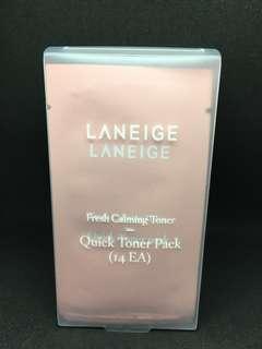 Laneige Fresh Calming Quick Toner Pack (14 ea)