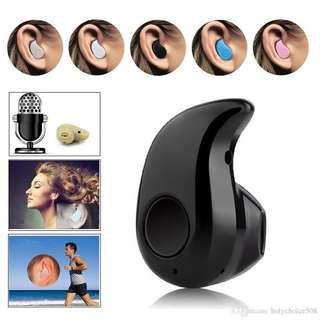 Mini Bluetooh earbud Earphone wireless music phone call
