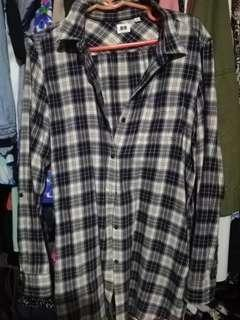 Checkered long sleeves