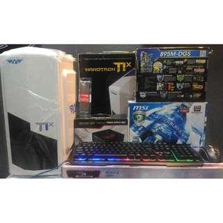 PC Gaming AMD FX 4300 3,8 GHz / RAM 8GB / VGA R7 2GB DDR5