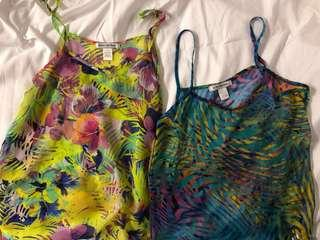 Body Central Floral Tops