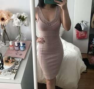 French Connection Blush Dress