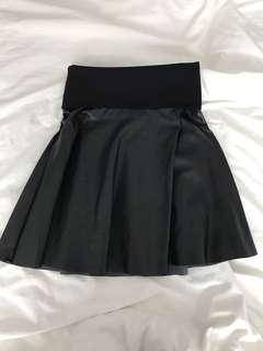 Wilfred Free Leather Skirt