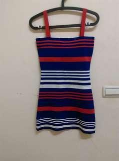 針織連身短裙