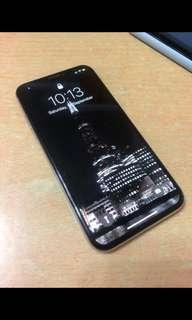 iPhone X 256Gb silver 白色