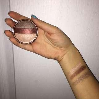 STILA Rose Gold glow trio eyeshadow brand new