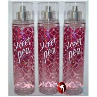 """Bath & Body Works Fine Fragrance Mist - Sweet Pea"""