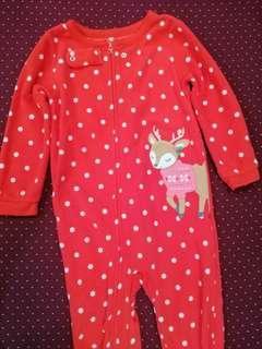 Carter's Sleepsuit 2T