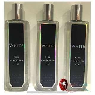 """Bath & Body Works Fine Fragrance Mist - White"""