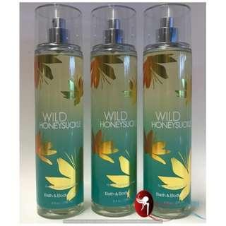 """Bath & Body Works Fine Fragrance Mist - Wild Honeysuckle"""