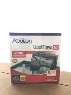 Aqueon quiet flow 10 gallon aquarium filter